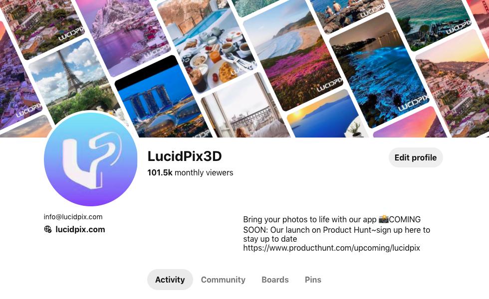 如何在一个月内在Pinterest上获得100万每月观看者