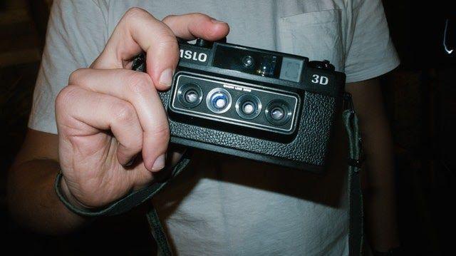 old 3D camera